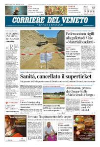 Corriere del Veneto Vicenza e Bassano – 05 luglio 2019