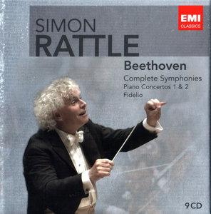 Simon Rattle - Ludwig van Beethoven: Complete Symphonies, Piano Concertos Nos. 1 & 2, Fidelio (2010) 9CD Box Set [Re-Up]
