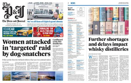 The Press and Journal Moray – September 01, 2021