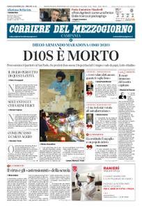 Corriere del Mezzogiorno Campania – 26 novembre 2020