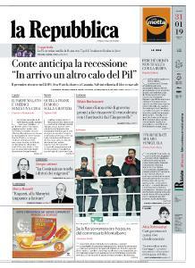 la Repubblica - 31 Gennaio 2019