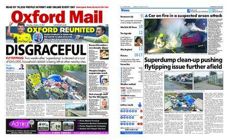 Oxford Mail – October 14, 2017