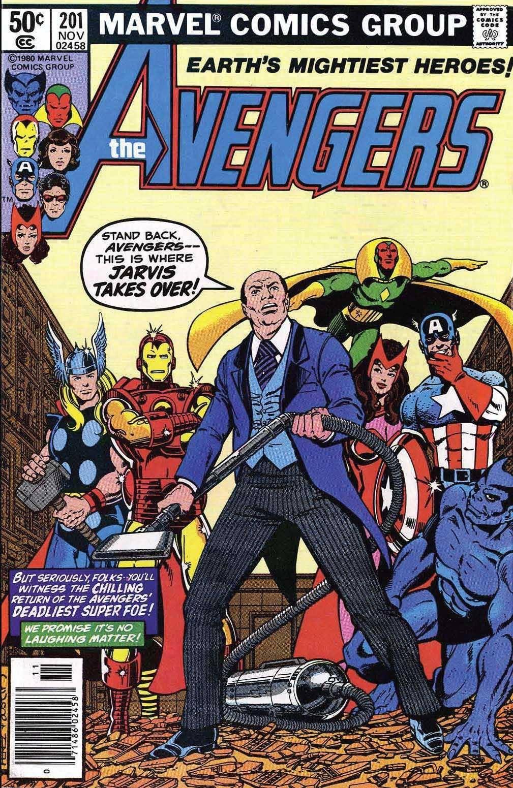 For Whomever - Avengers v1 201 cbr