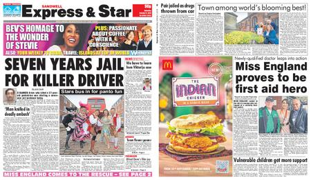 Express and Star Sandwell Edition – October 05, 2019