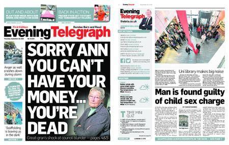 Evening Telegraph First Edition – September 20, 2018