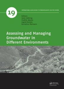 Assessing and Managing Groundwater in Different Environments (repost)