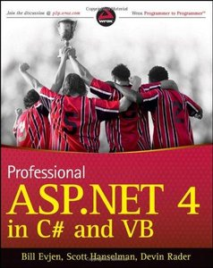 Professional ASP.NET 4 in C# and VB (repost)