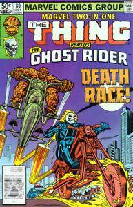 Marvel Two-In-One v1 080 Ghost Rider 1981 Malaclypse III