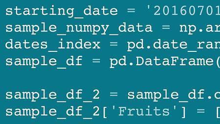 Lynda - Pandas for Data Science