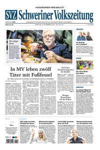 Schweriner Volkszeitung Hagenower Kreisblatt - 05. November 2018