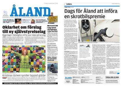 Ålandstidningen – 04 september 2018