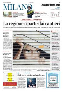 Corriere della Sera Milano – 18 aprile 2020