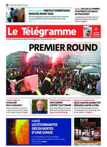 Le Télégramme Concarneau – 06 décembre 2019