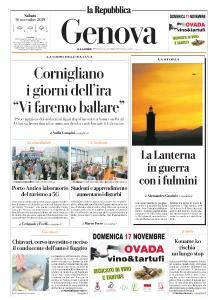 la Repubblica Genova - 16 Novembre 2019