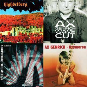Ax Genrich - 4 Albums (1975-2009) (Repost)