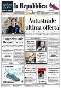 la Repubblica - 17 Gennaio 2020