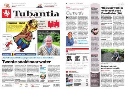 Tubantia - Enschede – 10 juli 2018