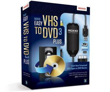Roxio Easy VHS to DVD 3 Plus 3.0.1.36