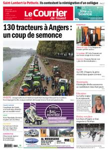 Le Courrier de l'Ouest Angers – 09 octobre 2019