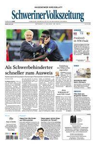 Schweriner Volkszeitung Hagenower Kreisblatt - 11. Juli 2018