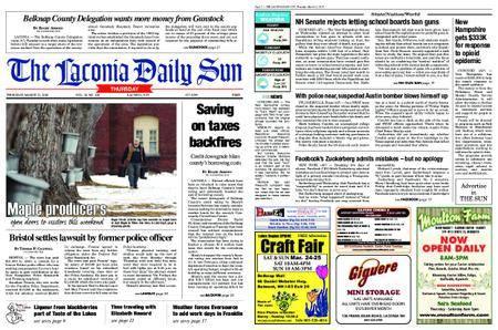 The Laconia Daily Sun – March 22, 2018