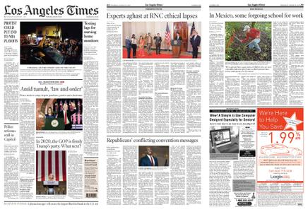 Los Angeles Times – August 27, 2020