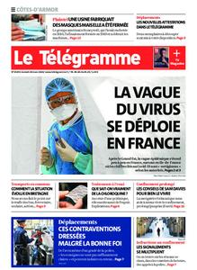 Le Télégramme Guingamp – 28 mars 2020