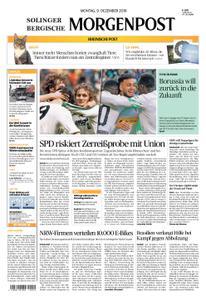 Solinger Morgenpost – 09. Dezember 2019
