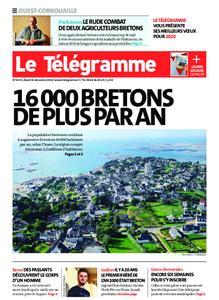 Le Télégramme Ouest Cornouaille – 31 décembre 2019
