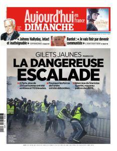 Aujourd'hui en France du Dimanche 2 Décembre 2018