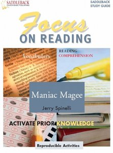 Focus on Reading: Maniac Magee (Saddleback's Focus on Reading Study Guides)