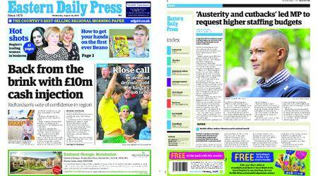 Eastern Daily Press – August 22, 2018