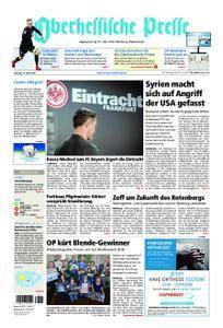 Oberhessische Presse Marburg/Ostkreis - 14. April 2018