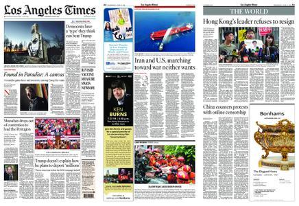 Los Angeles Times – June 19, 2019