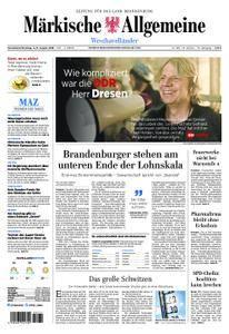 Märkische Allgemeine Westhavelländer - 04. August 2018