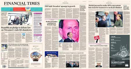Financial Times Europe – 23 January 2018