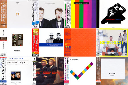 Pet Shop Boys - Albums Collection 1986-2013 (19CD) [Japanese Releases] Re-Up