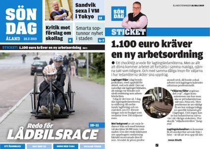 Ålandstidningen – 26 maj 2019
