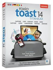 Roxio Toast Titanium 14.2.4495 Multilingual MacOSX