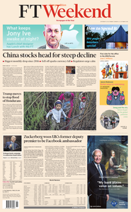 Financial Times Europe – 20 October 2018