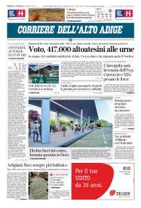 Corriere dell'Alto Adige – 21 ottobre 2018