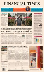 Financial Times Asia - April 12, 2021