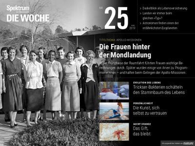 Spektrum Die Woche – 21. Juni 2019