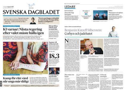 Svenska Dagbladet – 07 augusti 2018