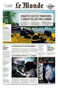 Le Monde du Dimanche 2 et Lundi 3 Septembre 2018