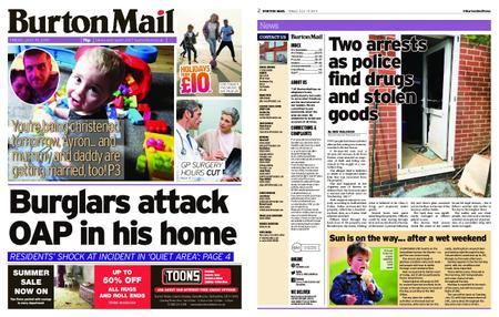 Burton Mail – July 19, 2019