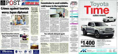 The Guam Daily Post – September 07, 2018