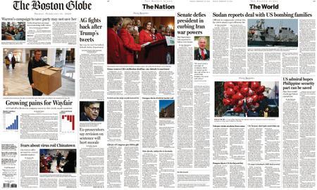 The Boston Globe – February 14, 2020