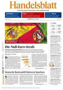 Handelsblatt - 28. Juli 2016