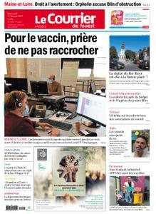 Le Courrier de l'Ouest Angers – 17 février 2021